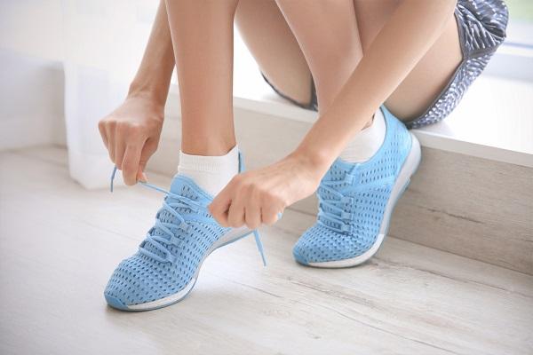 保育士向けの靴の写真