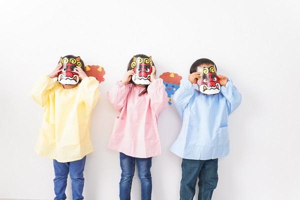 保育園の節分会とは?流れやねらい、子どもとのかかわり方とゲーム出し物のアイデア