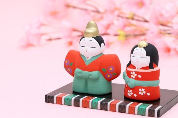 ひな祭りの人形