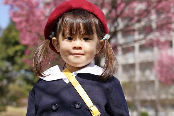 4月の3歳児の写真