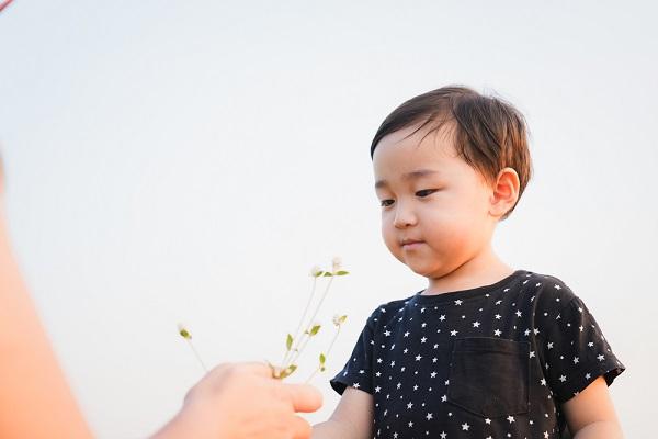 5月の2歳児の写真