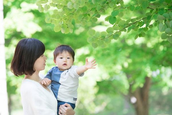 5月の1歳児の写真