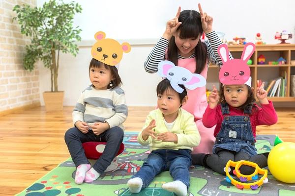 5月の3歳児の写真