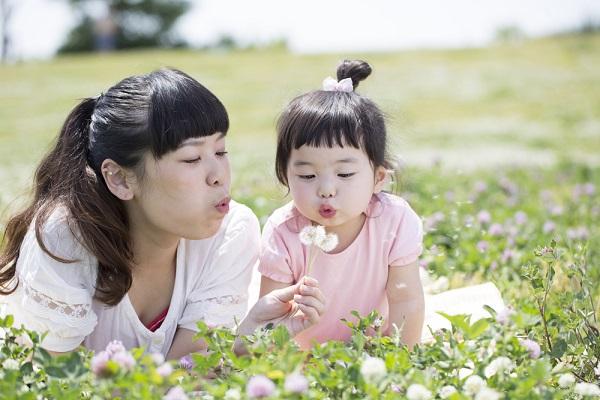 5月の4歳児の写真