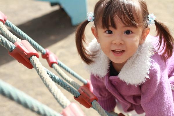 1歳児の子どもの写真