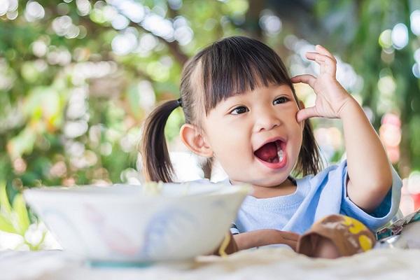 7月の2歳児の写真