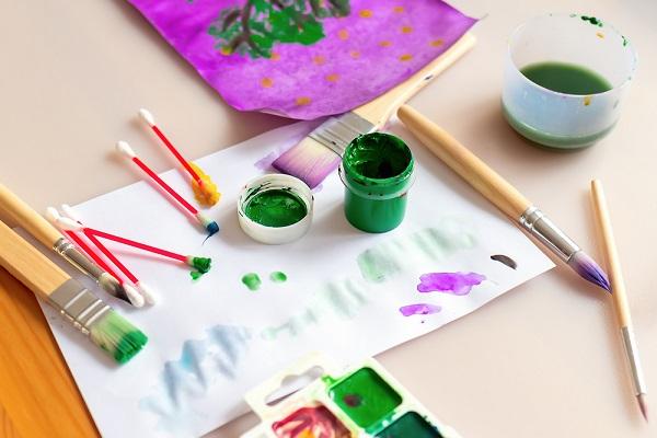 絵画の道具