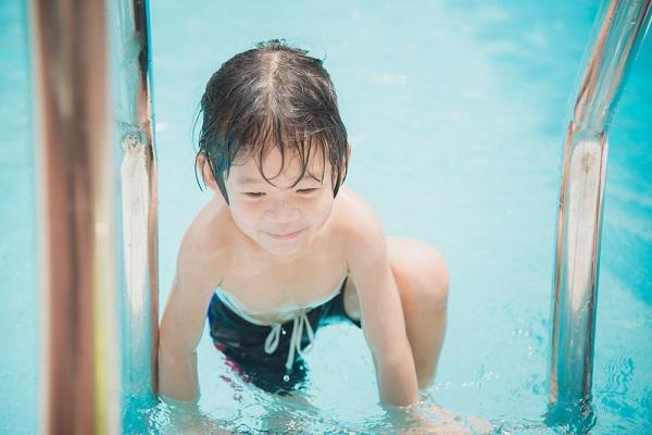 8月の5歳児の写真