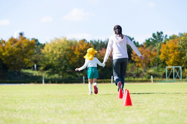運動会の親子競技