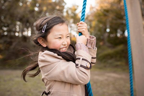10月の5歳児の写真