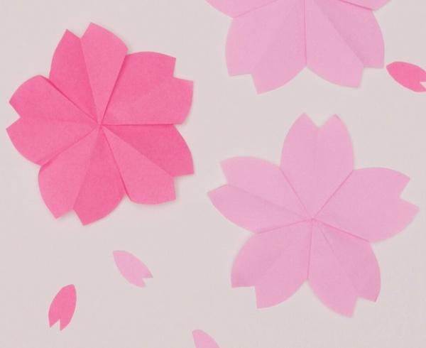 【動画】4月の花と花言葉は?さくらの折り紙