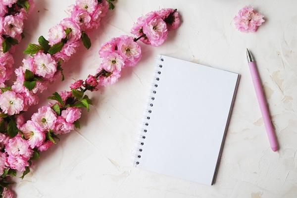 お花と手紙