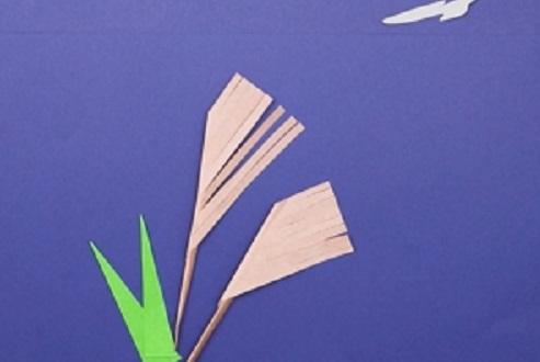 【動画】季節の折り紙製作。すすきを折ってみよう