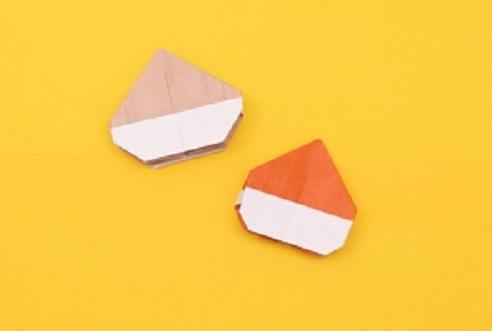【動画】秋の味覚くりを折り紙で折ってみよう