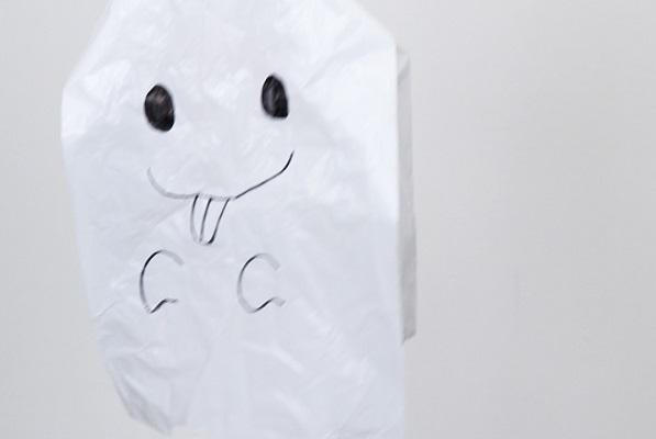 【動画】ゆらゆら揺れるかわいいおばけを作ろう!