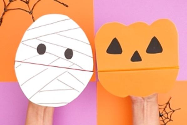 【動画】子どもたちの人気者になるかも!?ハロウィンパペットを作ろう