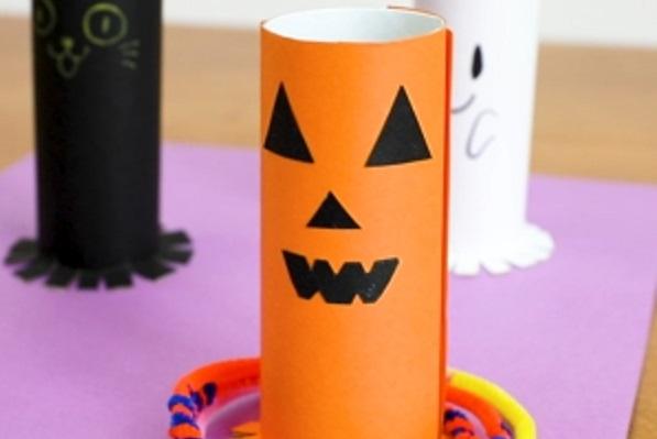 【動画】ハロウィンの遊びは輪投げで決まり!ハロウィン輪投げの作り方