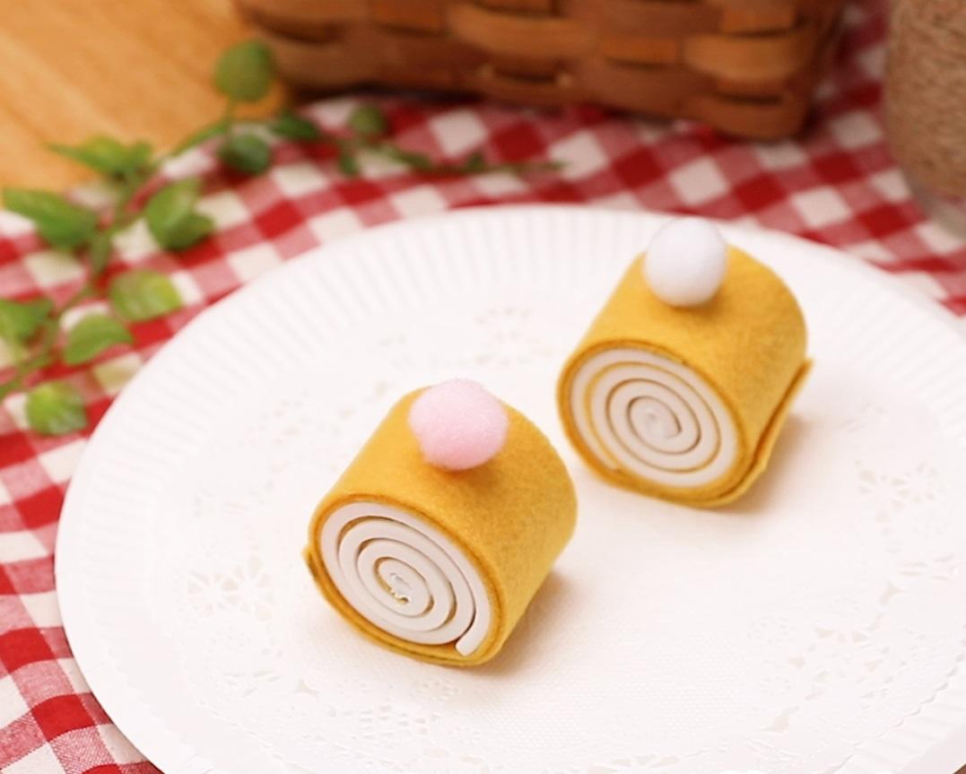 【動画】巻くだけ簡単!かわいいロールケーキを作ってみよう