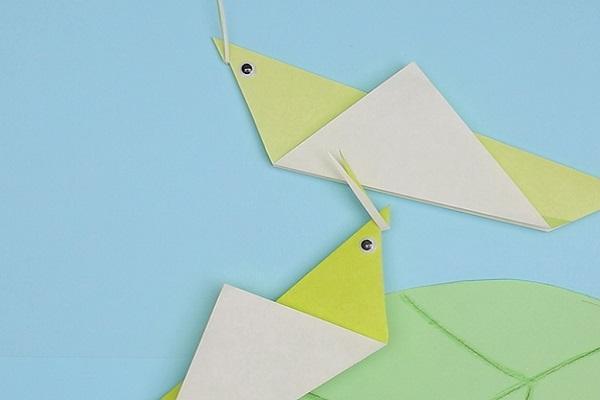 【動画】折り紙でバッタをつくろう