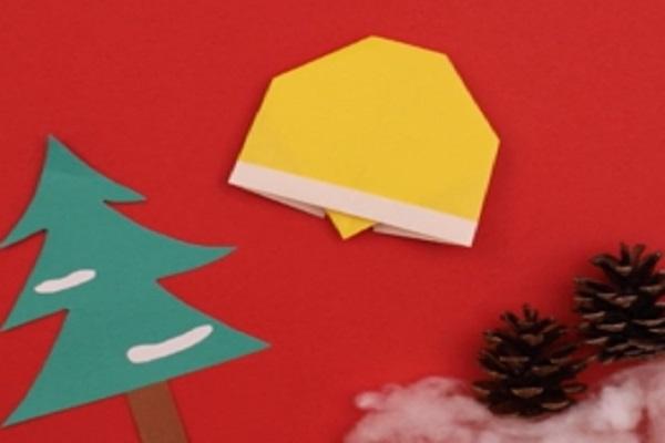 【動画】クリスマス製作の装飾に!折り紙のクリスマスベルをつくろう