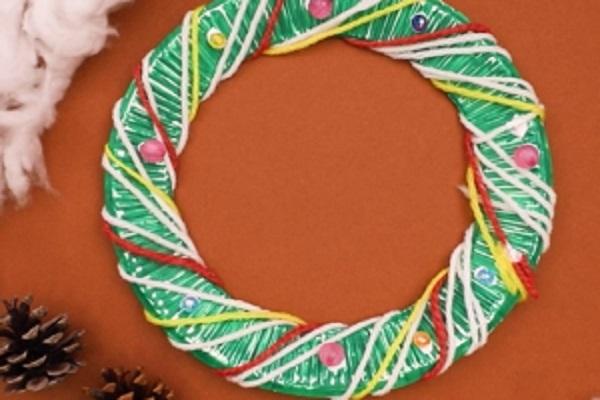 【動画】クリスマス装飾にぴったり!クリスマスリースを作ろう