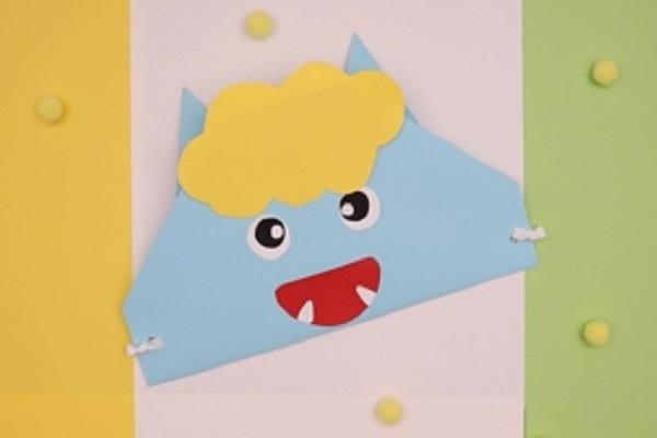 【動画】節分行事にぴったり!画用紙で作るかわいい鬼の帽子