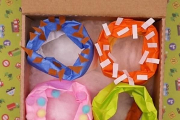 【動画】折り紙で作るドーナツのバラエティセット