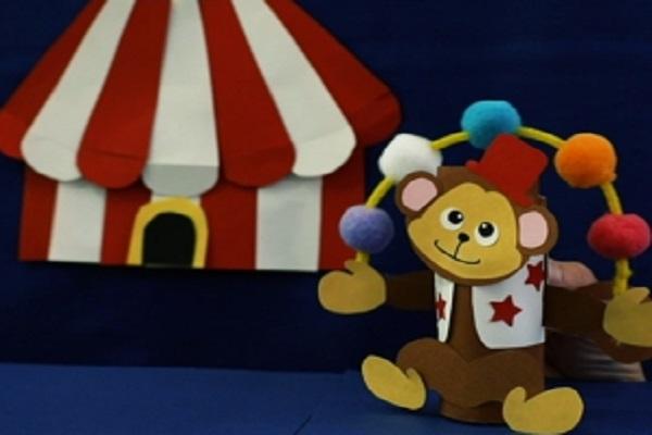 【動画】子どもと一緒に楽しめる!トイレットペーパーの芯を使ってジャグリングサーカスを作ろう