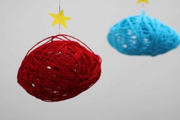 【動画】ころころかわいい製作!ストリングボールを作ろう