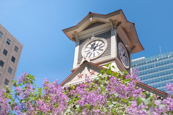 時計台の画像