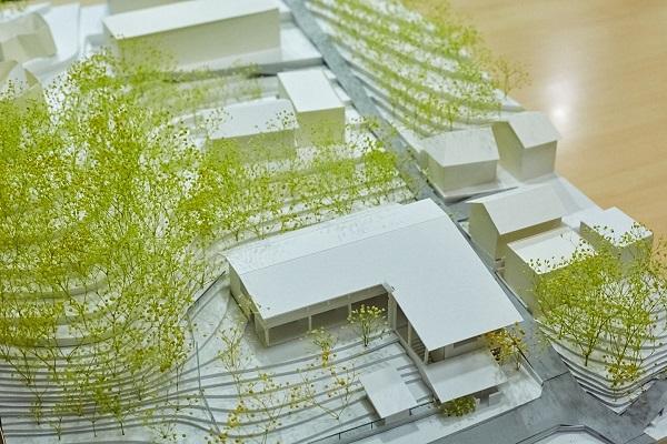 保育園の内装模型