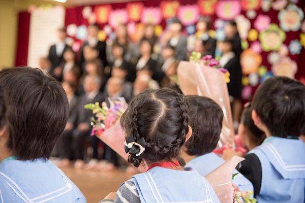 卒園式の画像