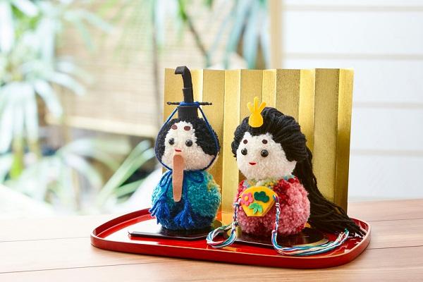 編み物のひな人形