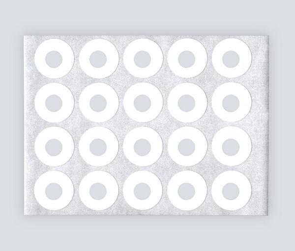 パンチ穴補強シールの写真