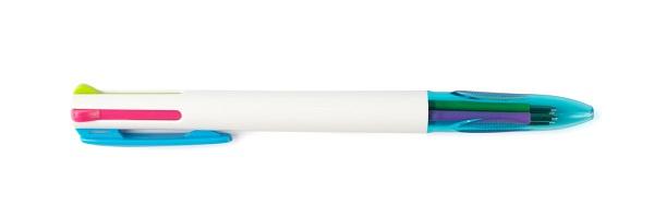 三色ボールペンの写真