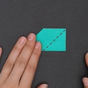 折り方を示した図