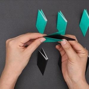 折り紙の組み合わせ方