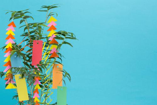笹飾り折り紙