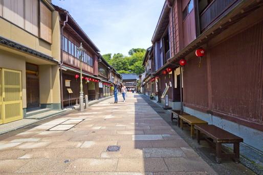 金沢の歴史的な街並み