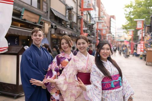 増加する外国人観光客