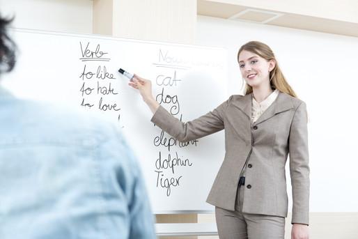 英会話塾の講師