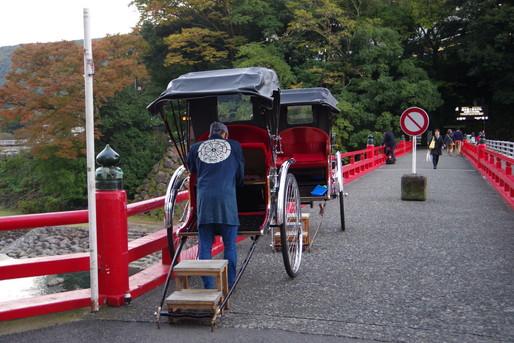 箱根の人力車