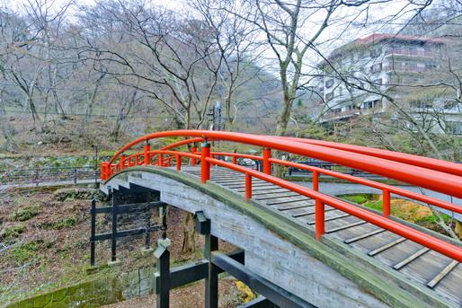 伊香保温泉の橋