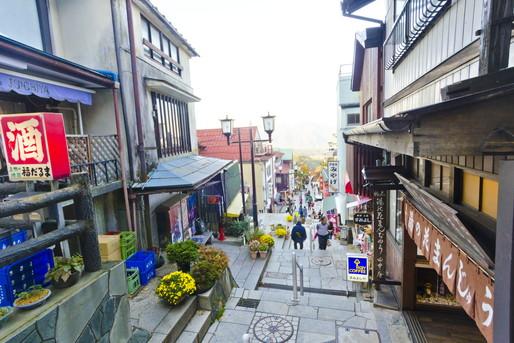 伊香保温泉の街並み