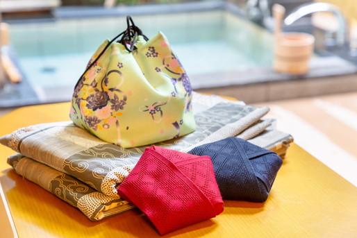 温泉と浴衣