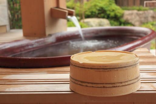 温泉と風呂と桶