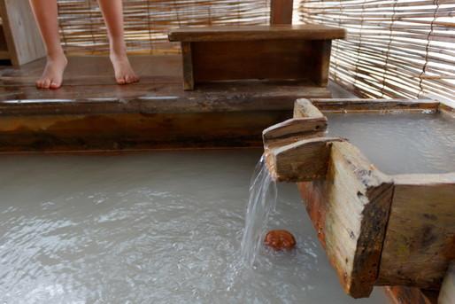 温泉のお湯