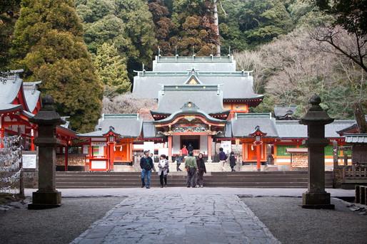 霧島温泉付近の寺社