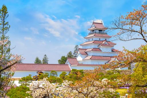 会津若松の城