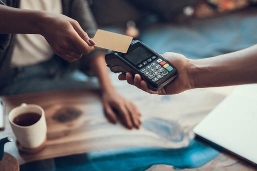 クレジットカード決済の様子